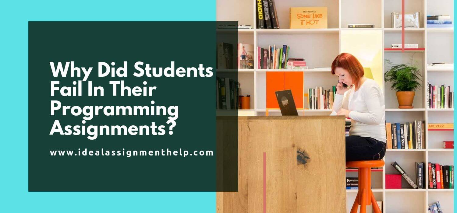 Why Did Students Fail In Their Programming Assignments?
