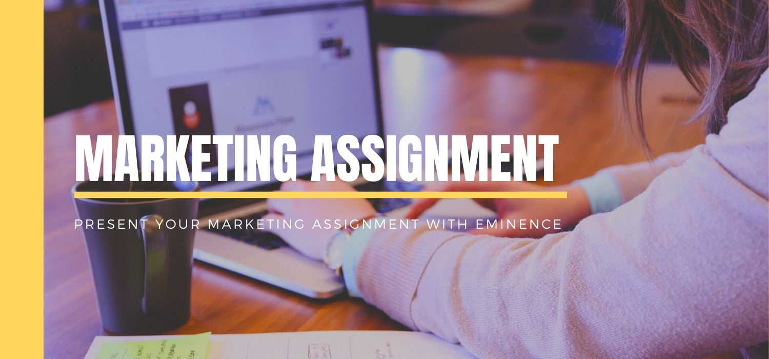 Present your Marketing Assignment with Eminence