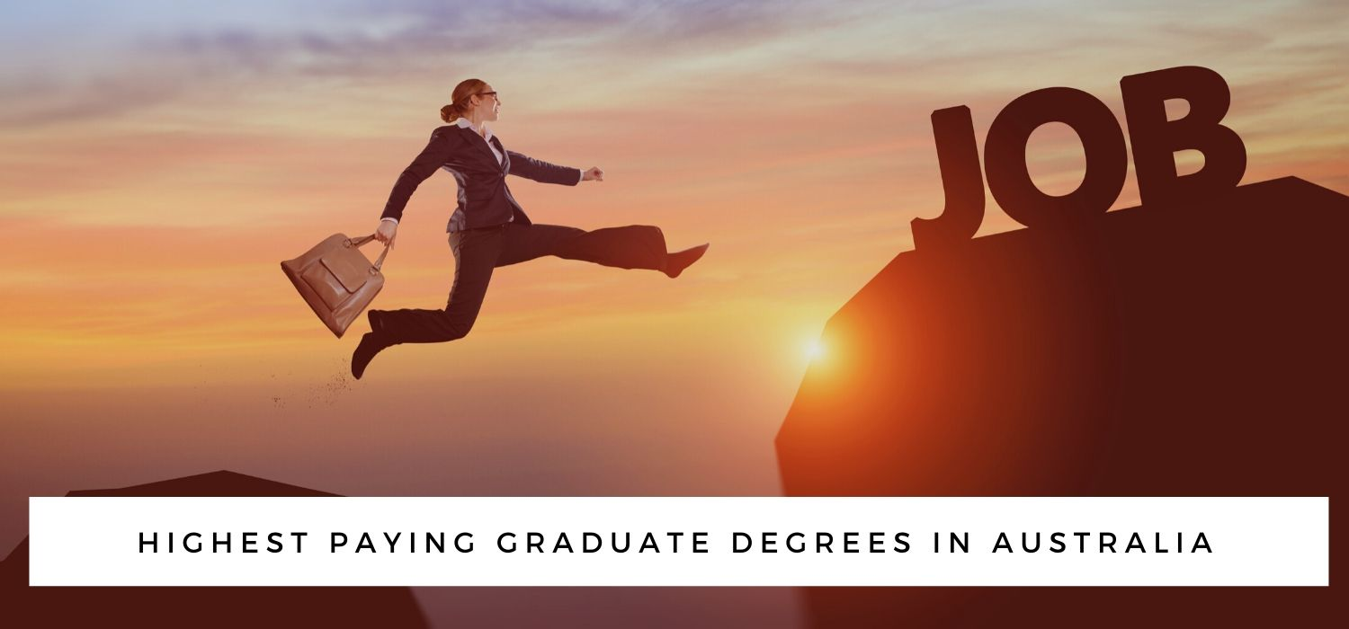 Top 5 Highest Paying Graduate Degrees in Australia